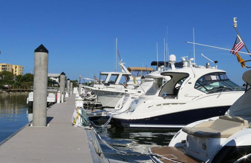 Marina at The Alexander All Suite Oceanfront Resort.