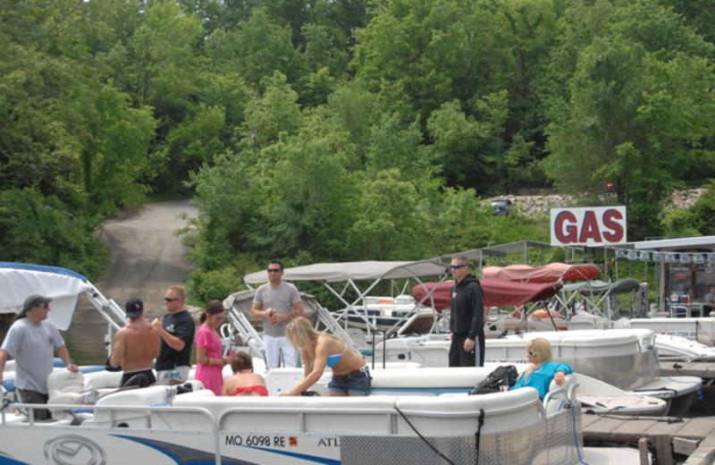 Boat rental at Inn at Grand Glaize.