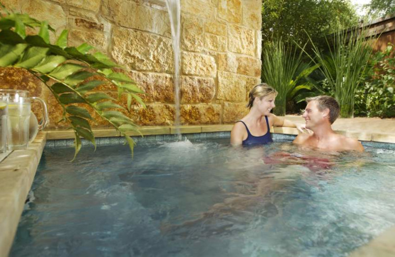 Romantic Hot Tub at Lake Austin Spa Resort