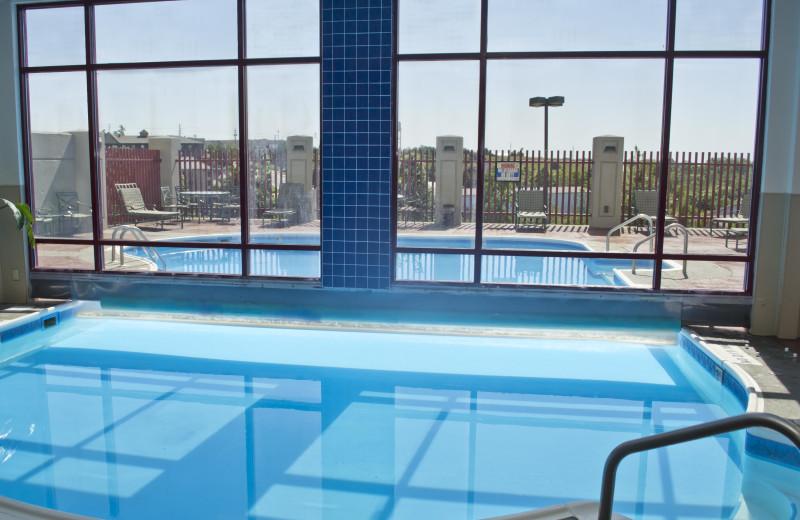 Indoor pool at Radisson Hotel Branson