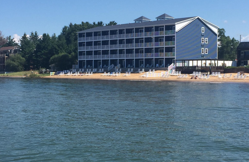 Exterior view of Baywatch Resort.