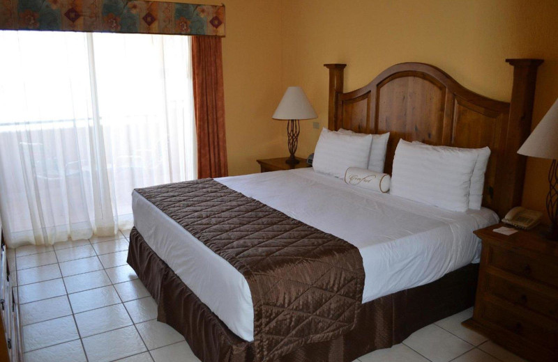 Guest room at Sea of Cortez Premeire Vacation Club.