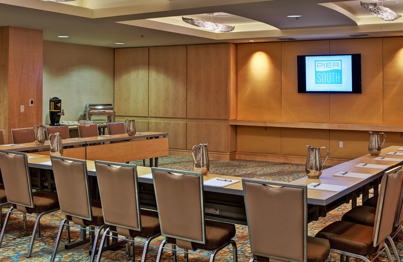 Meeting room at Pier South Resort.