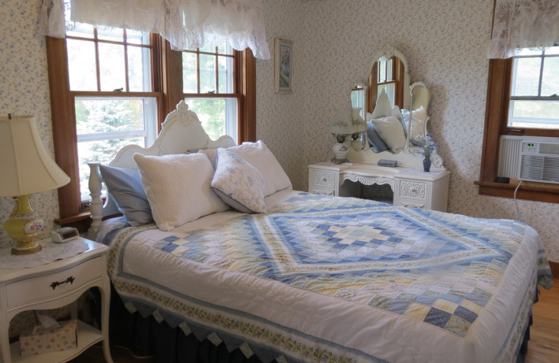 Guest room at Lilac Village Bed