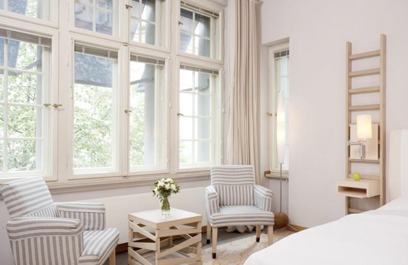 Guest room at Bleibtreu Hotel.