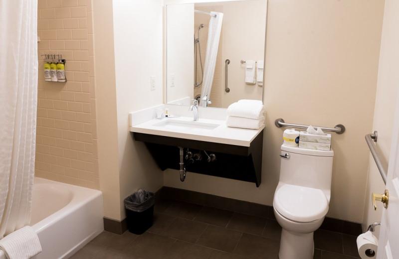 Guest bathroom at Candlewood Suites - Stevensville.