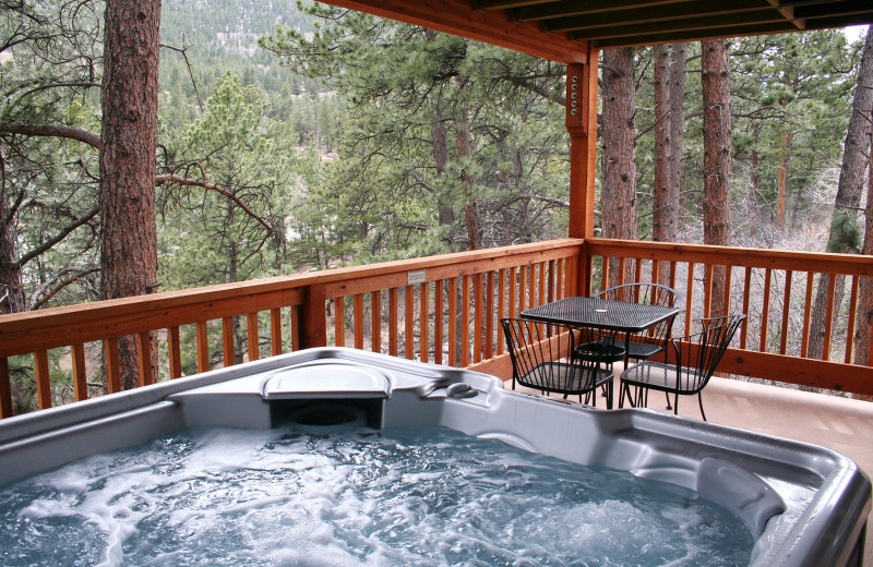 Jacuzzi view at Fawn Valley Inn.