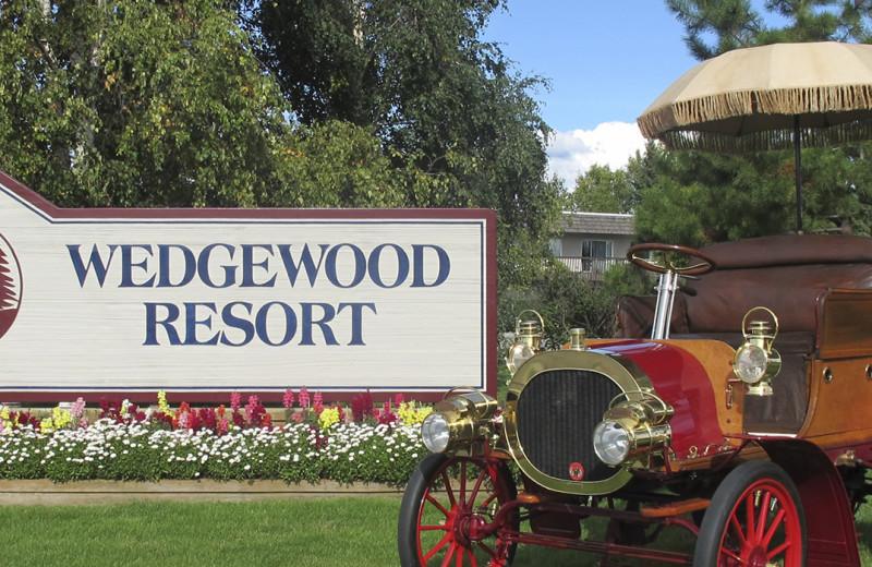 Exterior view of Wedgewood Resort.
