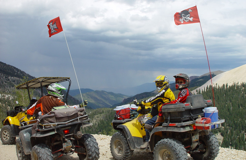 ATV riding at Big Rock Candy Mountain Resort.
