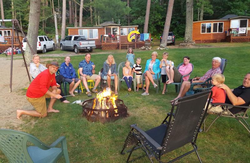 Reunions at Moore Springs Resort.