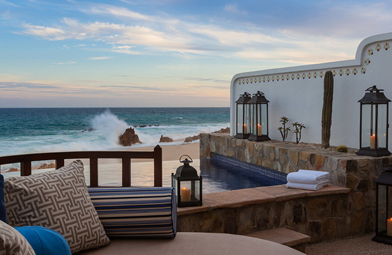 Guest suite at One and Only Palmilla.