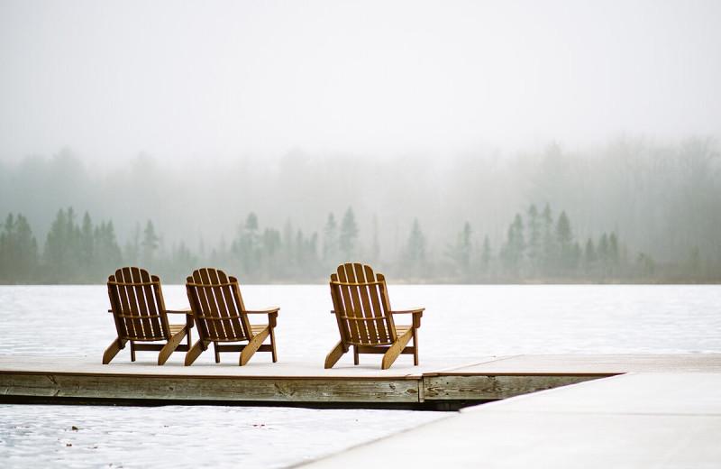 Winter at The Lodge at Woodloch.
