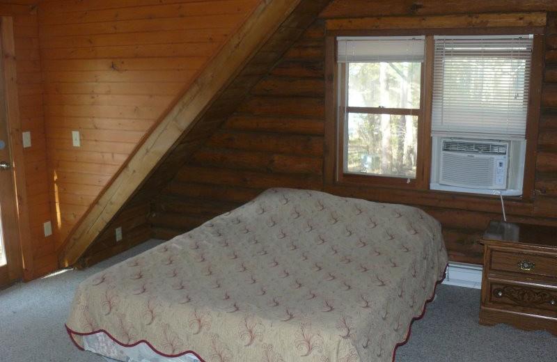 Rental bedroom at Sand County Service Company - Little Ponderosa.