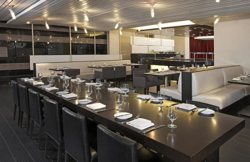 Dining at Hyatt Regency Toronto.