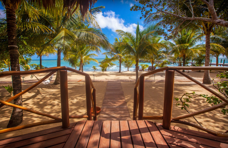 Beach at Kanantik Reef & Jungle Resort.