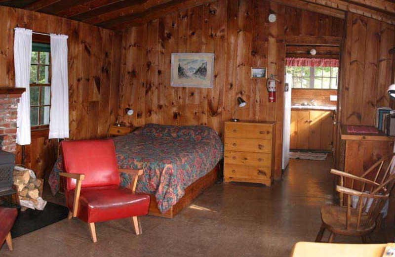 Rental interior at Harborfields Waterfront Vacation Cottages.