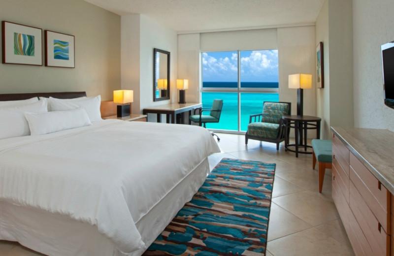 Guest room at The Westin Regina Resort, Cancun.