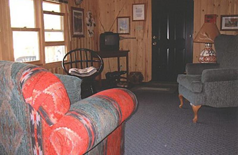 Cabin Interior at Edgewood Resort