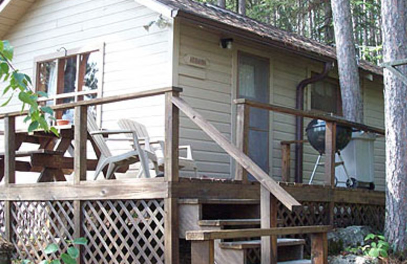 Cabin Exterior at Spring Bay Resort