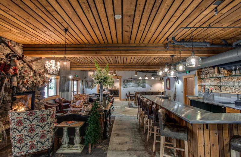 Bar at Bavarian Lodge.