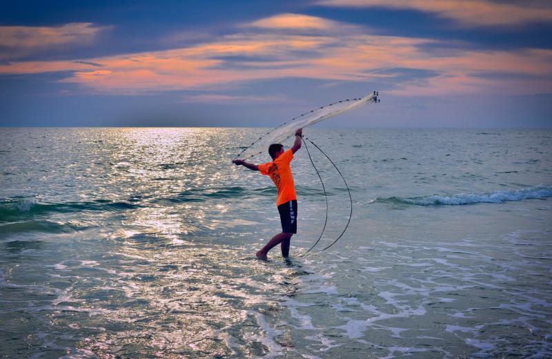 Fishing at Bald Head Island Limited.