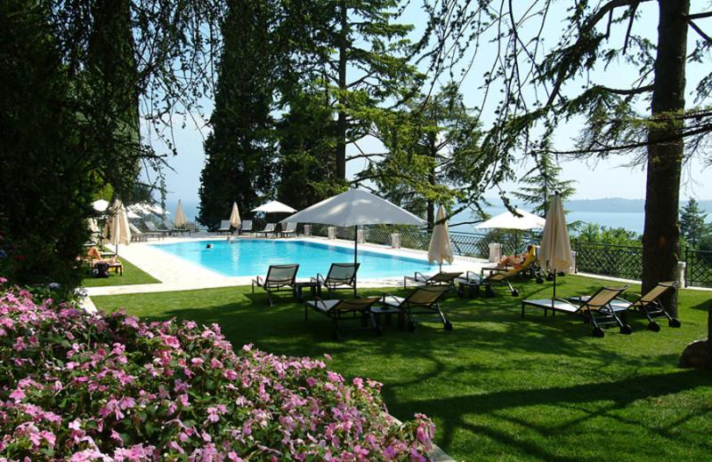 Outdoor pool at Hotel Villa del Sogno.