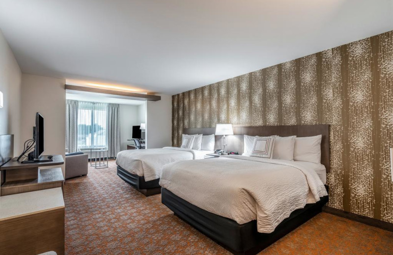 Guest room at Fairfield Inn & Suites - Stevensville.