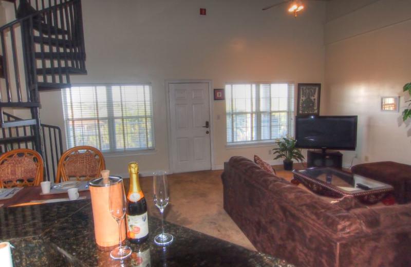 Rental Living Room At SkyRun Vacation Rentals