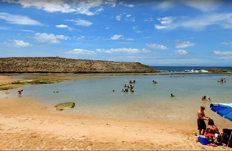 Beach at Parador Villas del Mar Hau.