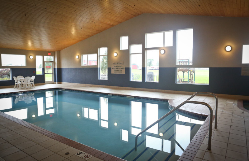 Indoor pool at GrandStay Perham.