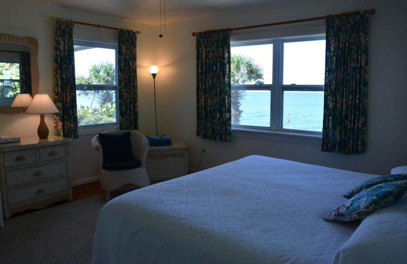 Guest room at Manasota Beach Club.