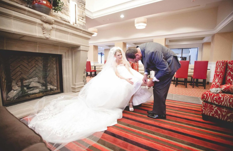 Weddings at Penn Wells Hotel & Lodge.
