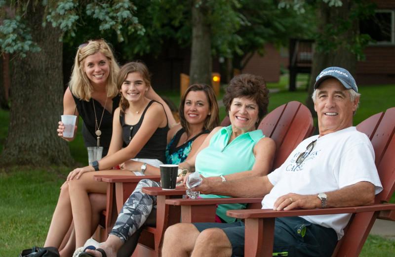 Reunions at Ruttger's Bay Lake Lodge.