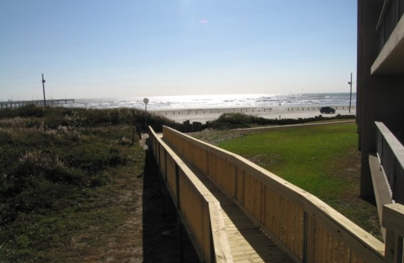 Boardwalk at The Dunes Condominiums.