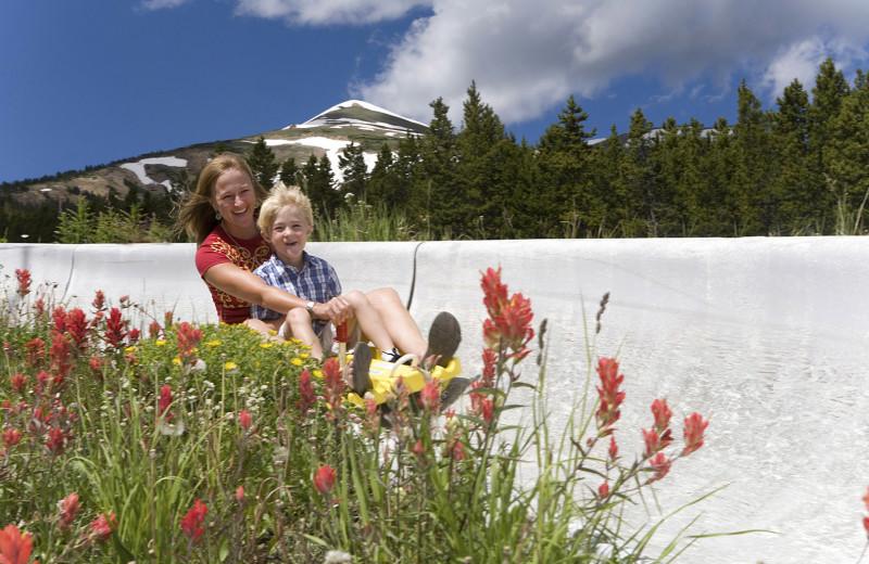 Alpine slide near Grand Lodge on Peak 7.