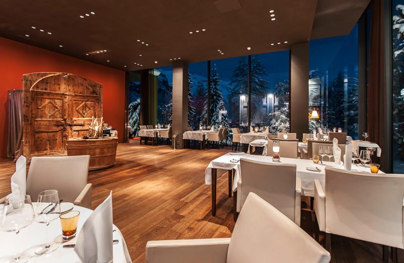 Dining at Park Hotels Waldhaus.