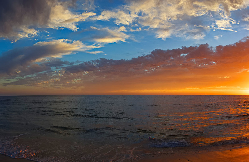 Sunset at Capistrano Realty.
