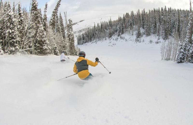 Skiing at Grand Summit Resort Hotel.