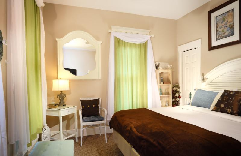 Quiet Quilt room at The Branson Hotel.