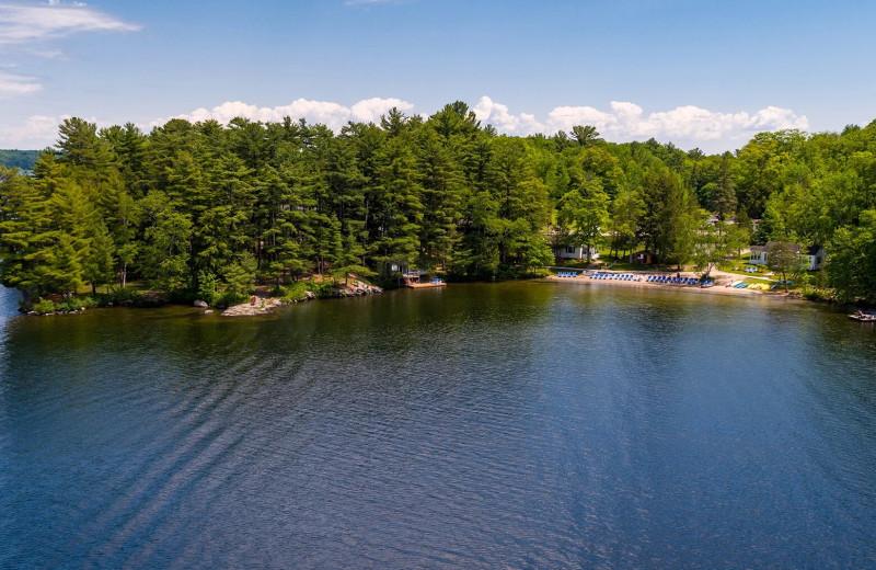 Lake at Sherwood Inn.