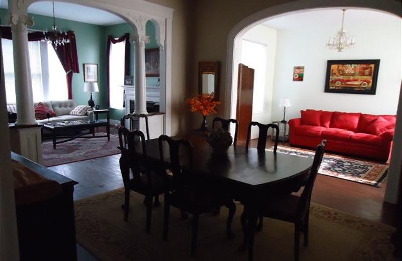 Rental interior at The House Company.