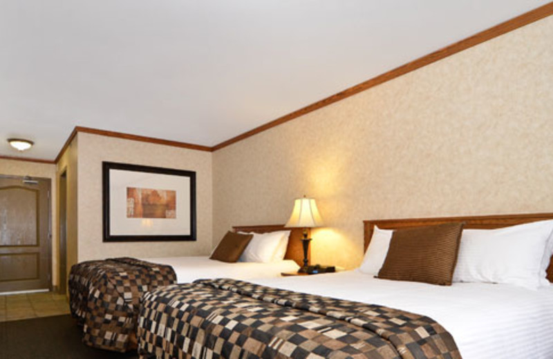Guest room at Best Western Plus Fernie Mountain Lodge.
