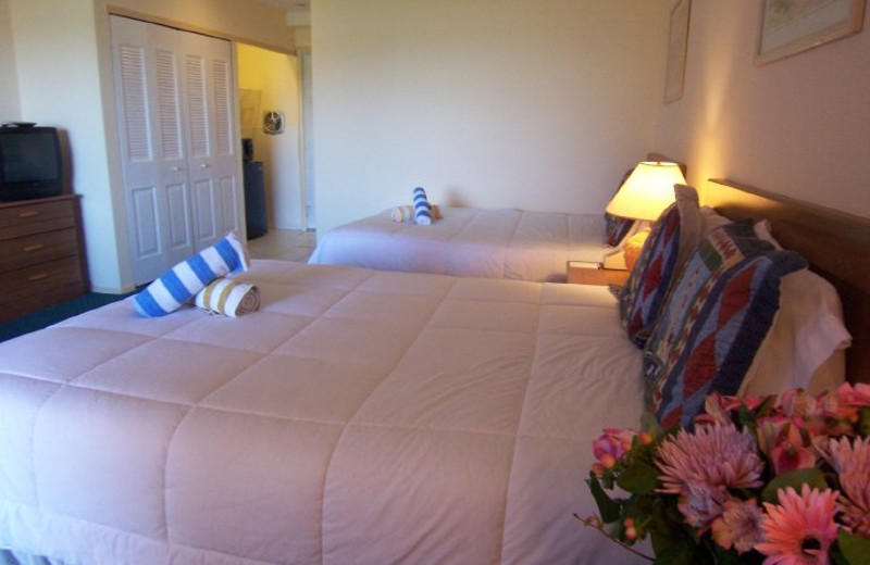 Guest room at Inn At Baron's Cove.