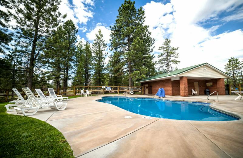 Outdoor pool at Best Western Plus Ruby's Inn.