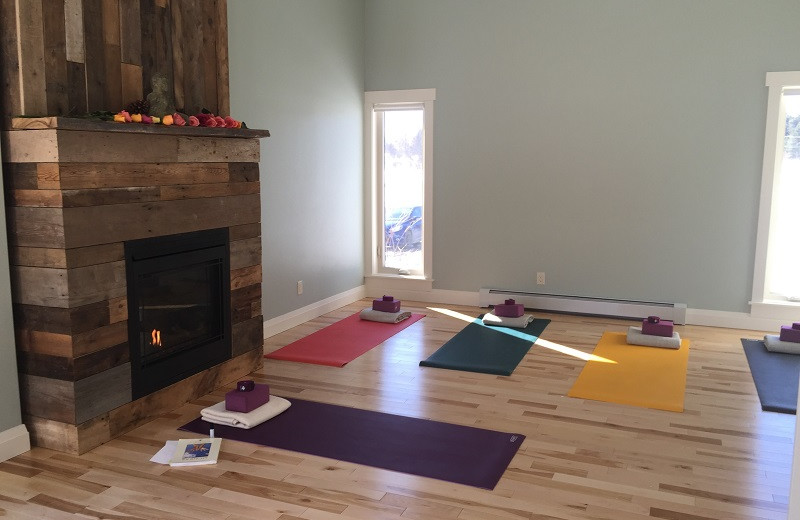 Yoga at Strathmere Retreat & Spa.