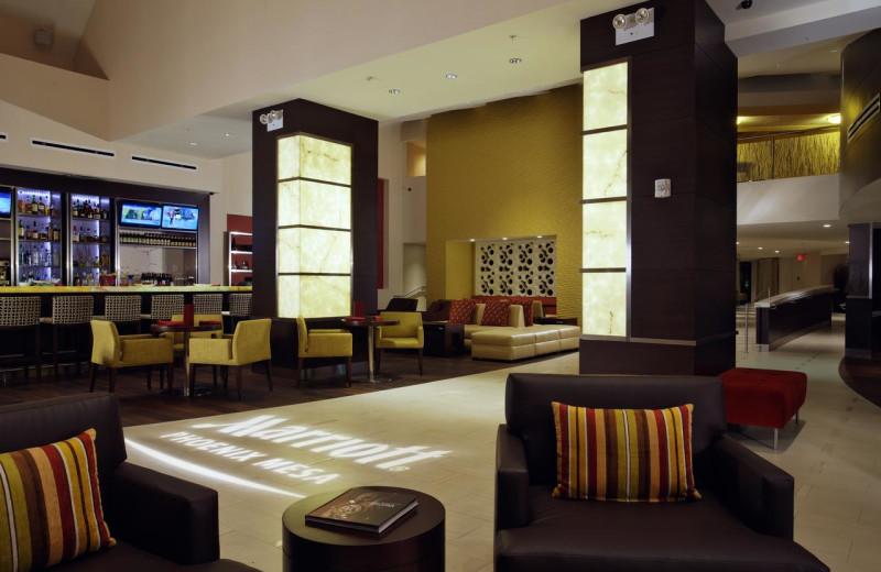 Lobby at Phoenix Marriott Mesa.