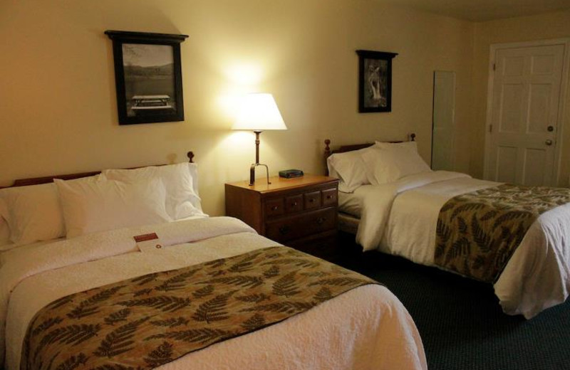 Guest Room at Yankee Inn