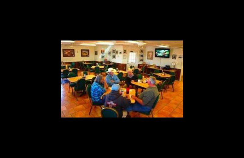 Dining at Big Bend Resort & Adventures.