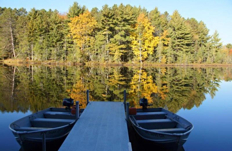 Lake view at Whiplash Lake Resort.
