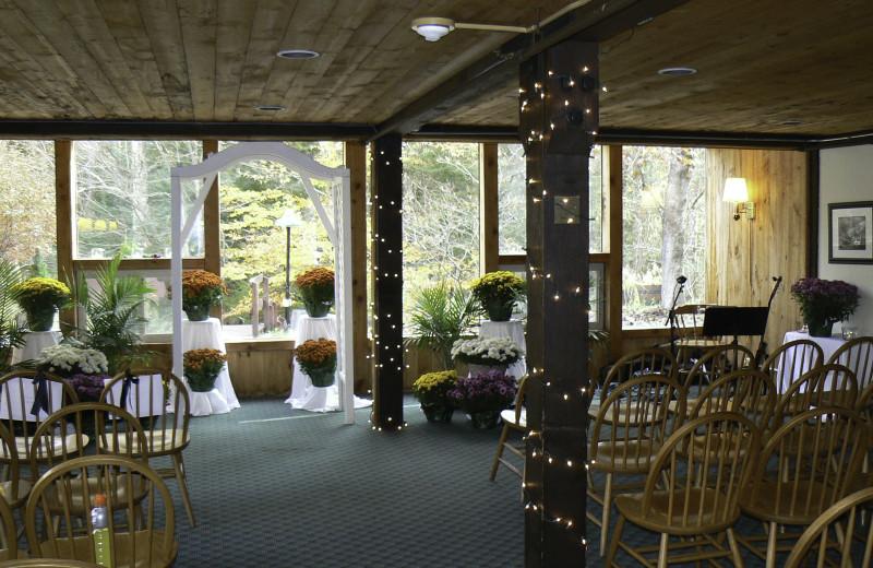 Weddings at Snowy Owl Inn and Resort.